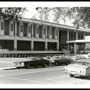 East Side of Ferguson Center, 1970s