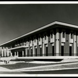 South View of Ferguson Center, 1973
