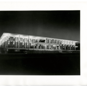 Night View of Ferguson Center, 1973